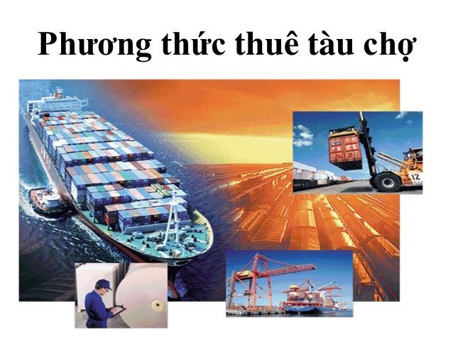 thuê tàu chợ vận chuyển hàng hóa