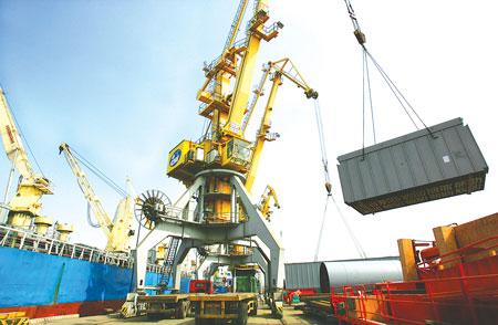 Giao nhận hàng hóa xuất khẩu ở cảng biển