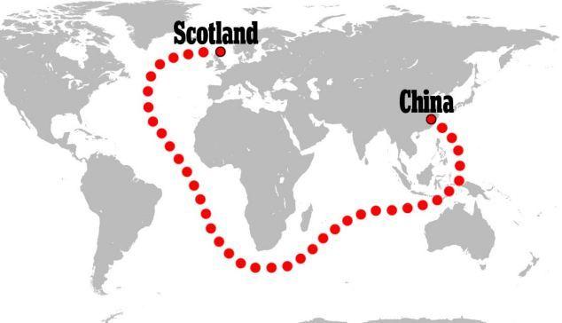 Vận tải biển ngàng càng rẻ
