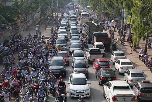 Việt Nam muốn phát triển ôtô lắp ráp trong nước.