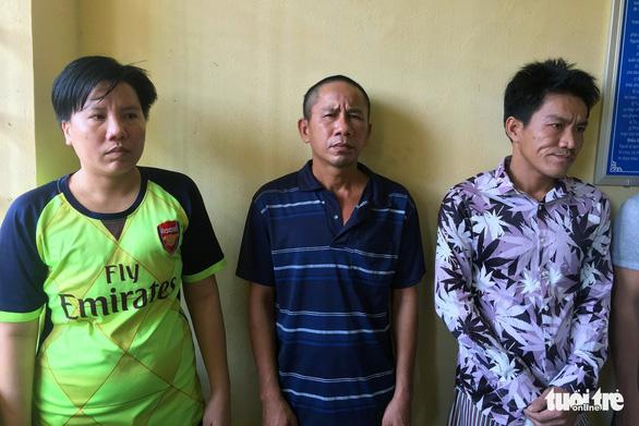 3 bị can là anh em ruột tại cơ quan công an
